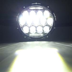 75Wハイ・ロービームLEDジープのラングラーヘッドライトランプ