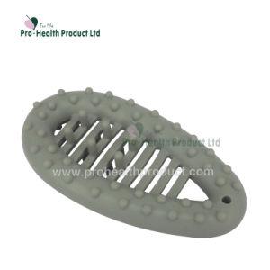 Forma de gota de agua de los dedos de silicio Exerciser pinzas de mano Strengthener formador