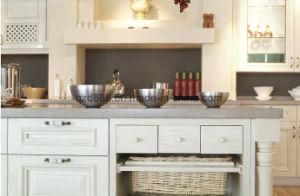 Мраморные кухне верхней части с раковиной твердой поверхности искусственного камня