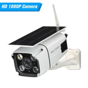 PIR IP67 Resistente al agua al aire libre 1080P WiFi de 2MP cámara IP de batería solar