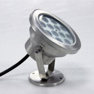 RGB LED bajo el agua fuente de agua, luz LED Submarino 24V 3W 6W 9W 12W 15W 18W 24W 36W fuente de luz submarina IP68 12V