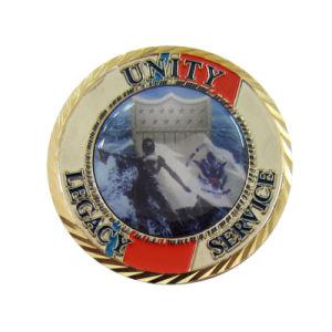 2018 Ton-Überzug-Metallgedenkmünzen des Roman-Diamant-Schnitt-Rand-zwei (025)
