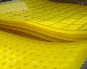 진동 철망사 스크린, 광업 쇄석기를 위한 폴리우레탄 스크린