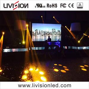 Aluguer de eventos internos de alta qualidade Video wall de LED P3.9/4,8 levou a exibição de vídeo sobre venda