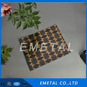 Incidere dello strato decorativo dell'acciaio inossidabile con colore del bronzo del rivestimento