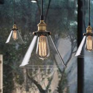 Luz de vidro transparente Possini Tubo de vidro transparente Mini Lâmpada Pendente