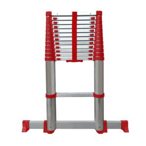 Osha de Volgzame 16 voet van Telesteps Ladder van de Uitbreiding van het Bereik Rode Tactische Ineenschuivende
