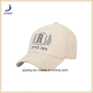Custom 100% algodão Boné com logotipo Bordado