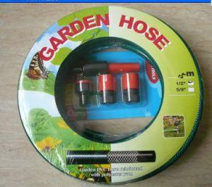 Spray de alta presión de PVC flexible del tubo de la manguera de jardín