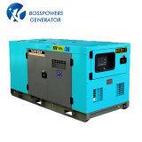gruppo elettrogeno diesel silenzioso Doosan di potere elettrico insonorizzato di 300kVA