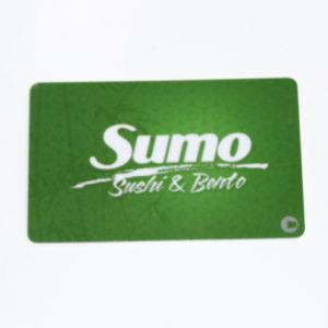 La impresión de tamaño personalizado de tarjetas inteligentes de PVC y fabricante de la tarjeta de negocios