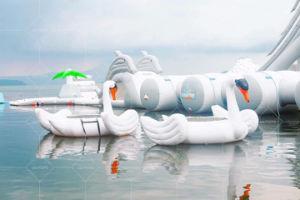 Het bedrijven Terrein van het Water van het Meer Opblaasbare voor Verkoop