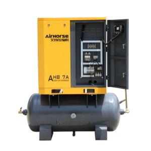 탱크를 가진 광저우 Airhorse 상표 5.5kw 7.5HP 나사 공기 압축기