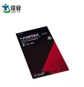 주문을 받아서 만들어진 가죽 꼬리표를 인쇄하는 공급 문구용품 부대 색깔 꼬리표 청동 광택 있는 꼬리표