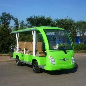 Toursim eléctrico do veículo transportador pessoal de transporte Passeios Turísticos 14 lugares