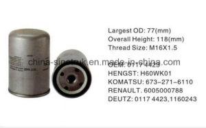 Deutz 01174418のための高品質のトラックの燃料フィルター