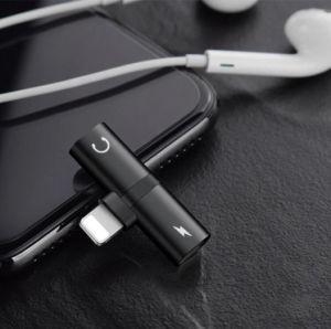 iPhone 8のアダプターのSplitterlジャックのヘッドホーンのiPhone X/8/7の可聴周波料金呼出し電話アダプターのため