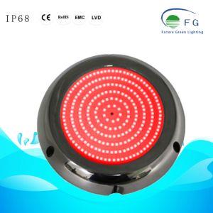 IP68 Harz gefülltes IP68 6W rotes LED Swimmingpool-Licht mit Gehäuse des Edelstahl-316