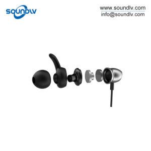 Bluetoothの移動式ハンズフリーの小型無線ステレオはNeckbandのInearのイヤホーンを遊ばす