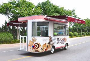 Aanhangwagen van het Voedsel van de hoogste Kwaliteit de Promotie Mobiele voor Verkoop