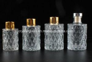 Esvaziar o óleo de fragrância de vidro transparente vaso Difusor Reed