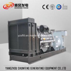 無声包装が付いているコンテナに詰められた1800kwパーキンズの電力のディーゼル発電機
