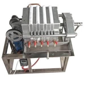 Edelstahl-Platten-und Rahmen-Schmierölfilter-Maschine