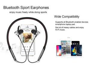 El deporte en el auricular Bluetooth estéreo inalámbricos auriculares con micrófono