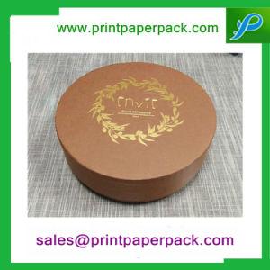 يعاد مادة صنع وفقا لطلب الزّبون حجم قبعة صندوق مستديرة ورقيّة أنابيب شام يعبّئ صندوق