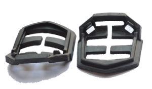 고무 제품 물개 EPDM 까만 완충기 차단기 착용 저항하는 작은 기계장치