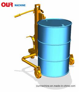 熱いSale 350kg Hydraulic Hand Drum Truck Dt350A