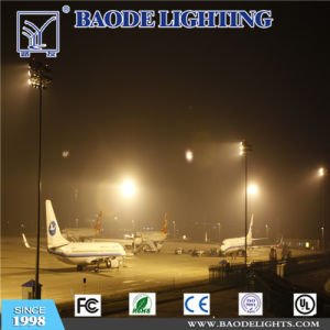 Football PitchのためのBaode Lights Outdoor 30m 600W LED Flood High Mast Lights