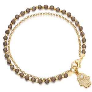 Armband van uitstekende kwaliteit van de Parel van de Juwelen van de Manier de Gouden Groene met Shell