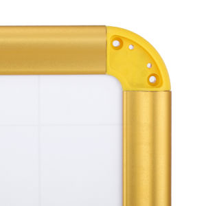 Магнитные сухой удалить сообщение стеклоочистители доски с покрытием сетки в алюминиевой раме