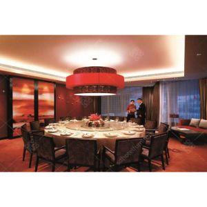 Material de madera personalizado juego de mesa de comedor Muebles para Hotel