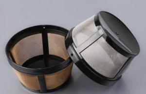 304 кофейный фильтр из нержавеющей стали с золотым звуковой сигнал неполадки
