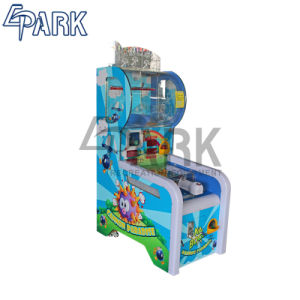 Los niños al por mayor de la fábrica de diversiones eléctrico billete de premio y la redención Paraíso cañón de la máquina máquina de juego de monedas