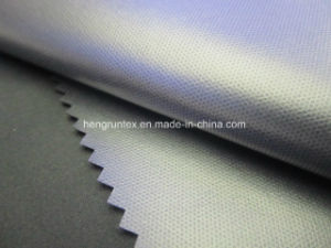 Polyester-Rohseide-wasserdichtes unten Umhüllungen-Gewebe 100%