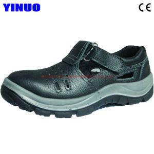 acero cuero Puntera de seguridad verano de Zapatos fresco de de 0X8nOwPk