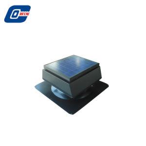 15wwatt Leafproof ventilador de teto solar em forma de quadrado