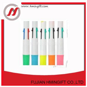 工場は安い価格によってカスタマイズされるロゴの液体のHighlighterのペンセットを供給する