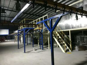 Riga di rivestimento automatica della polvere/linea produzione della vernice