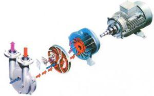 Materiales de hierro fundido /Ss modelo no 2BV Color Azul Anillo de agua bomba de vacío para el hogar