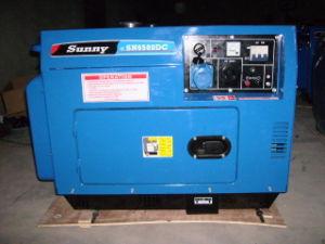 Genour Power-5.5kVA 6kVA Generator Ultra silenzioso diesel con raffreddamento ad aria