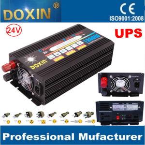 24V 1200W SAI Inversor de potencia con cargador de batería