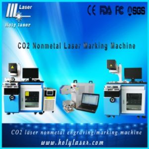 Machine d'inscription de laser de CO2 pour le matériel de non-métal (HSCO2-30W)