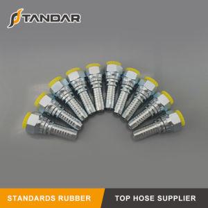 Montaggio di tubo flessibile idraulico d'acciaio ad alta pressione di Bsp Jic NPT