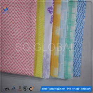 Großhandelsküche-Gebrauch Spunlace nicht gesponnener Wischer