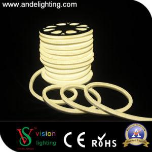 Decoração exterior 13x25mm Corda de LED de tubos de néon