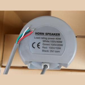 Altifalante de corneta PA 100V 40W altifalante exterior à prova de IP66 (H-30RT)